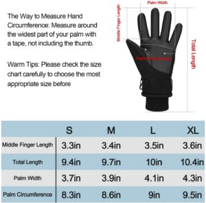 The Ski Gloves Size in a Review