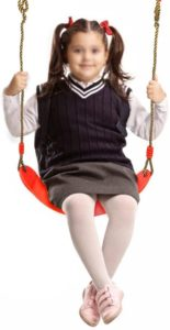 Is there a weight requirement for children's swing?